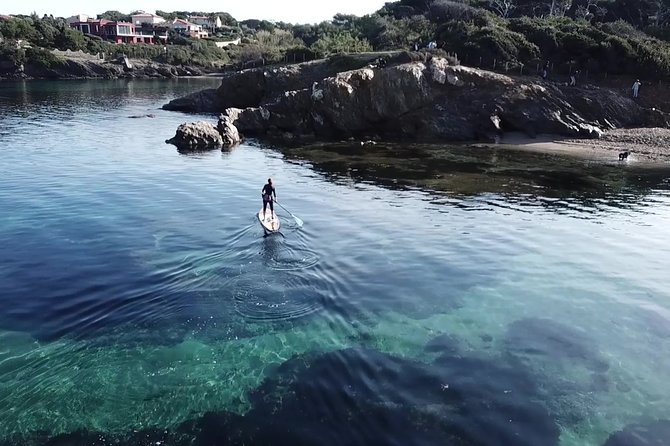 Paddle Board around Porquerolles and Giens