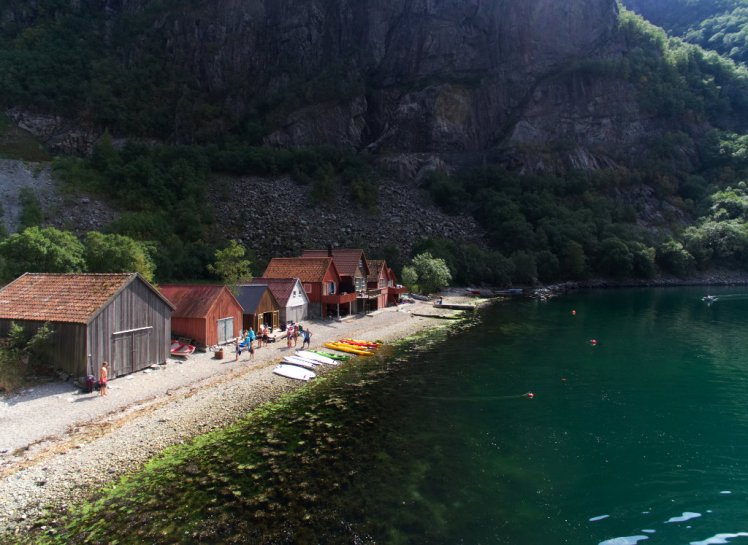 Paddleboard in Frafjord