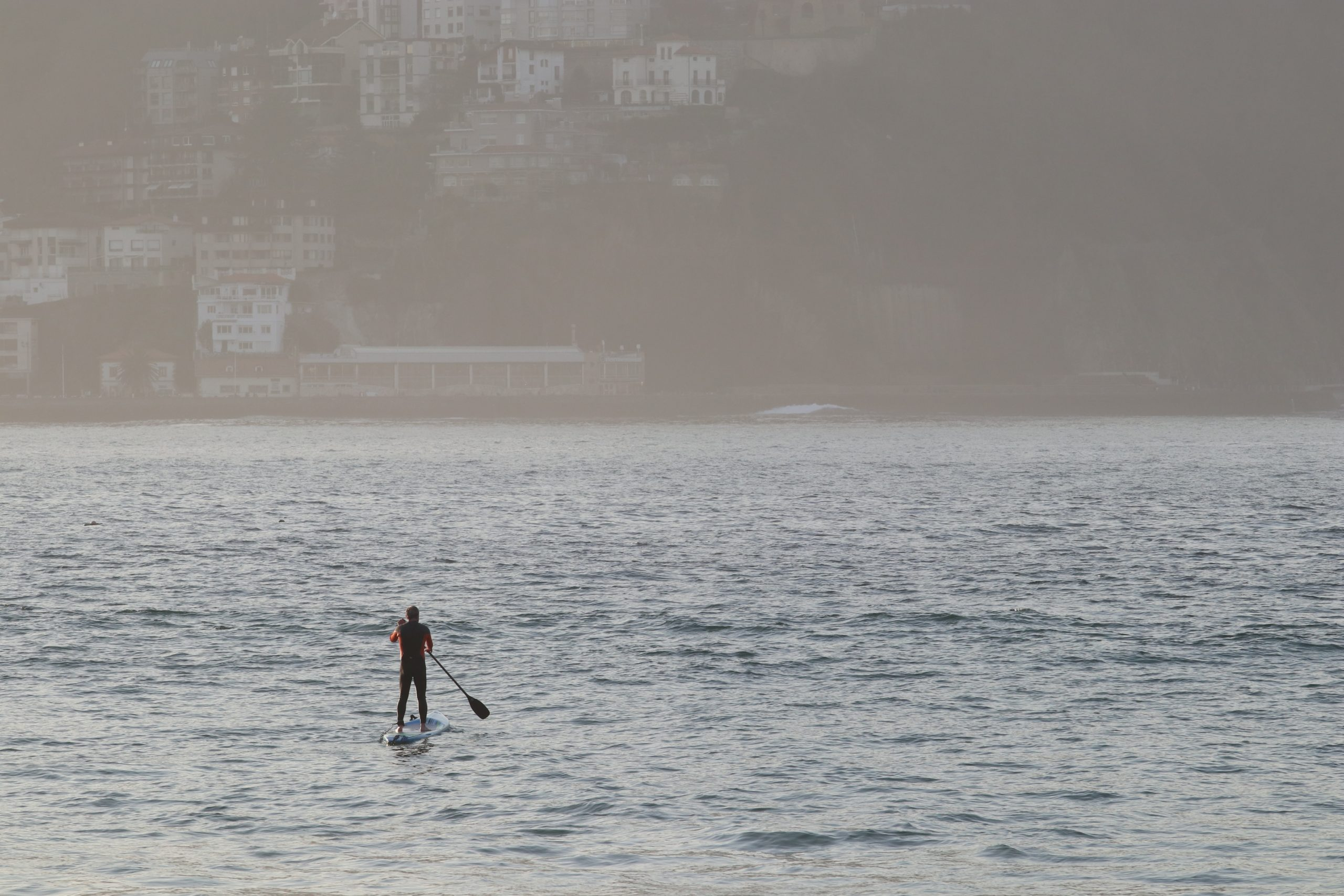 Paddleboarding San Sebastian